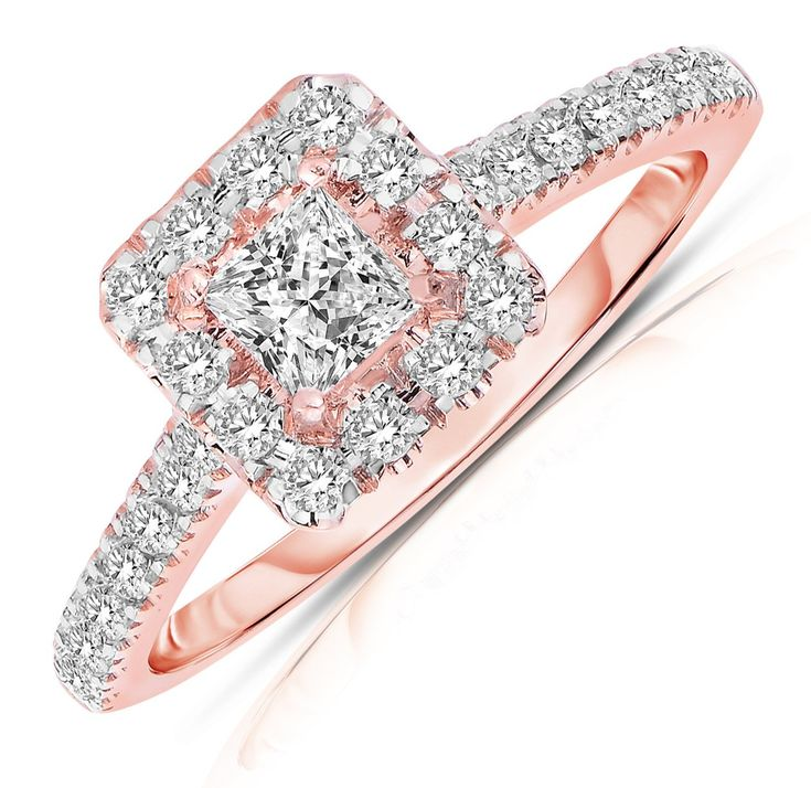1000 ideas about Princess Cut Halo on Pinterest