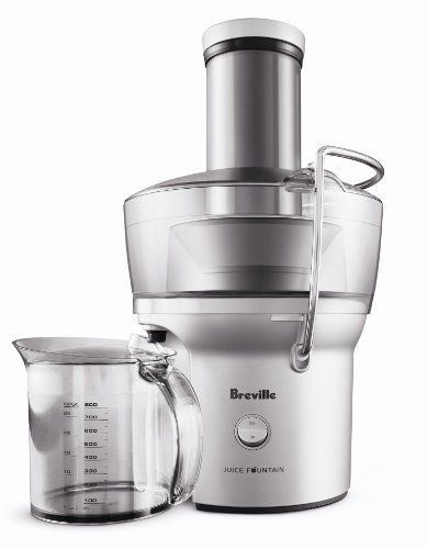 The Breville Juice Fountain Compact offers tremendous value and solid performance at under $100