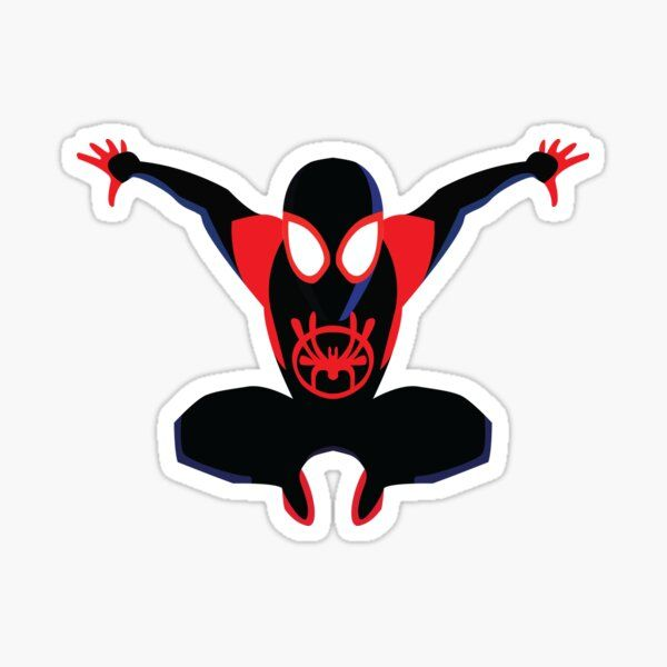 Spider Man Stickers Spiderman Stickers Spiderman Drawing Miles Morales Spiderman