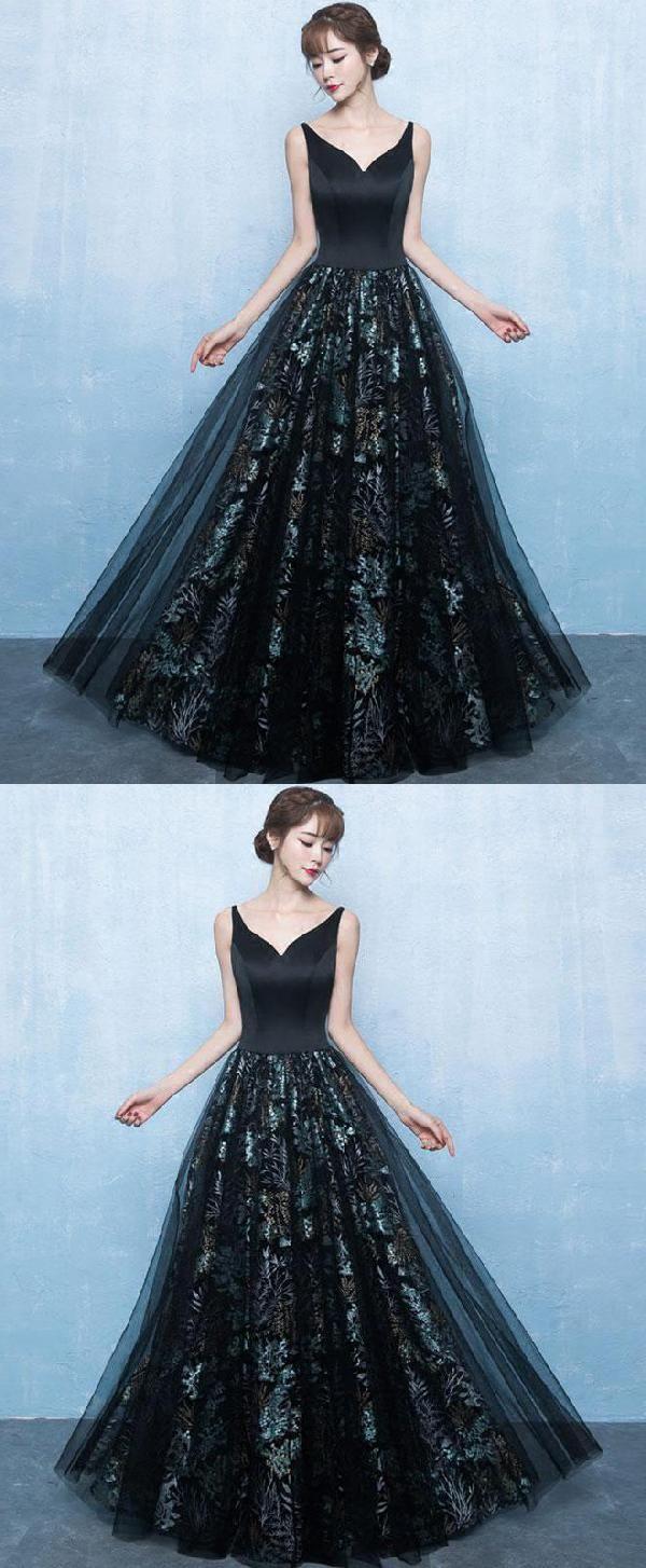 Hot sale easy prom dresses black prom dresses backless long prom
