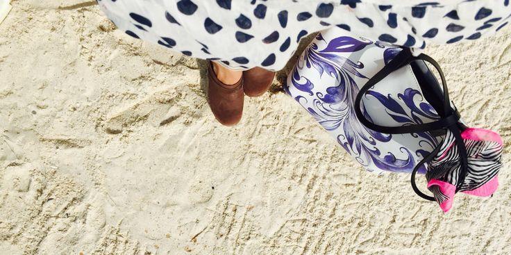 Summer tote bag by kulik