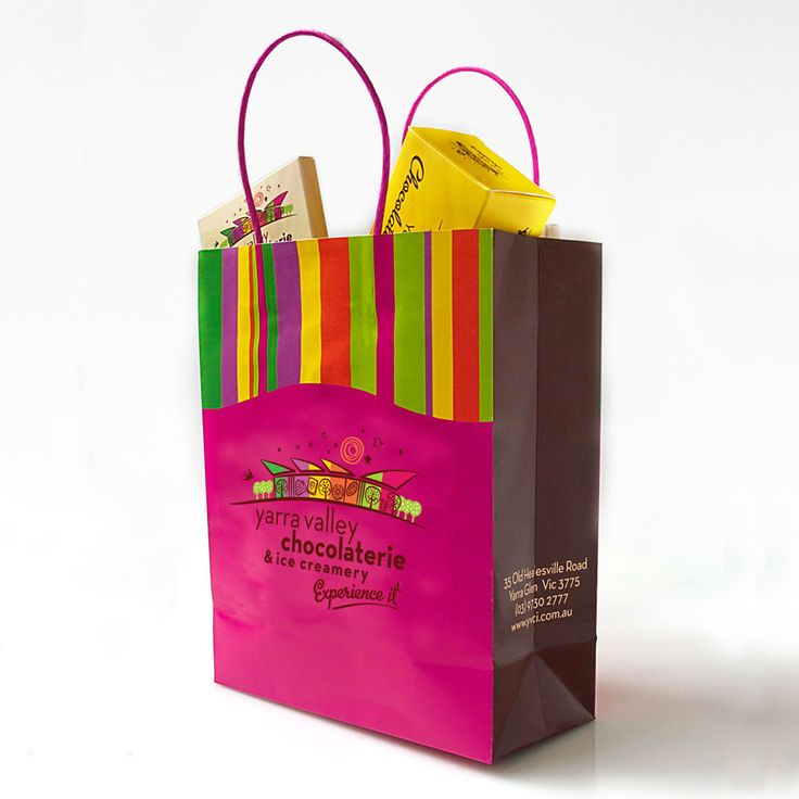 Branding for the Yarra Valley Chocolaterie.