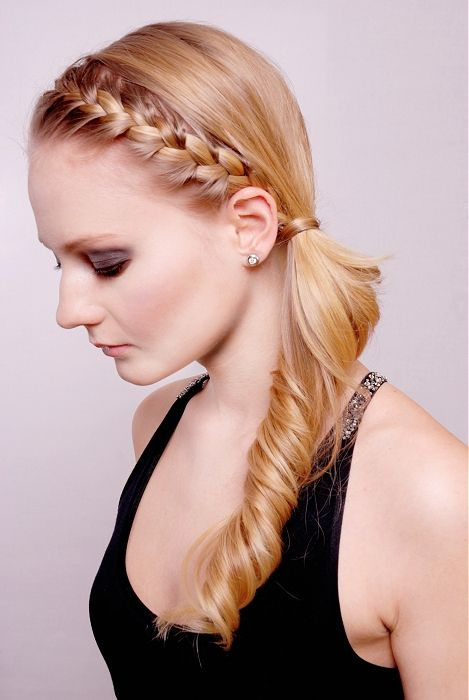 gorgeous side braid with curl. elegant. click thru to read post: Hair Ideas, Hairstyles, Hair Styles, Wedding, Makeup, Braids, Beauty