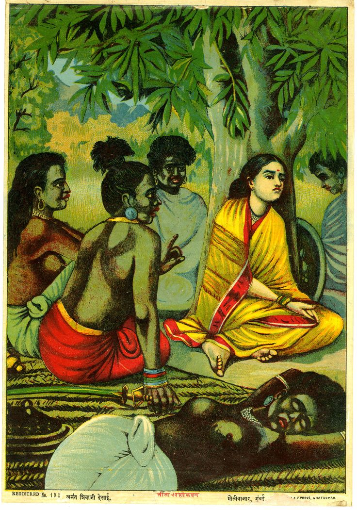 Junior Sringeri Swamiji tells a story from Ramayana