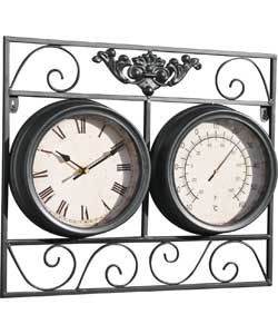 Buy Garden Clock and Thermometer at Argos.co.uk, visit Argos.co.uk to shop online for Garden clocks