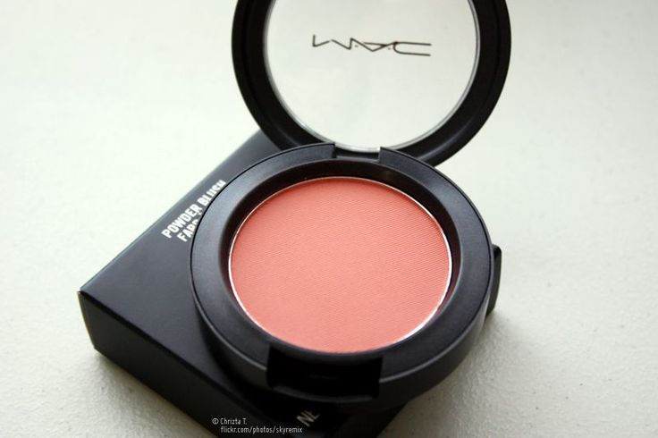 MAC Melba Blush - a super pigmented blush that gives you a natural coral, peach flush. Perfect for spring & summer. $21 at MAC.