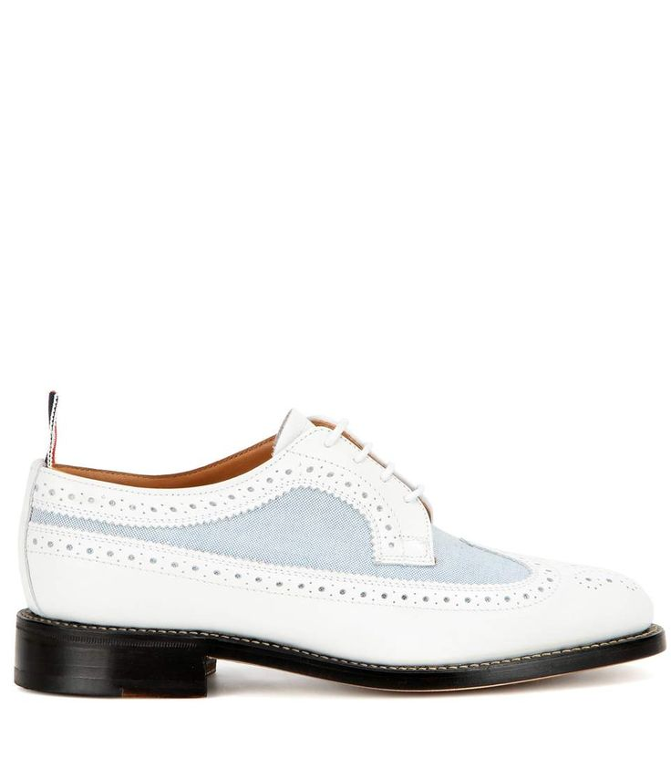 Thom Browne Leather & Canvas Brogues - https://www.kuikidi.com/product/thom-browne-leather-canvas-brogues/