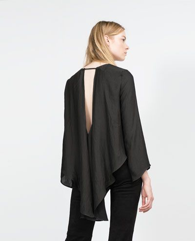 Image 5 of OPEN BACK SHIRT from Zara