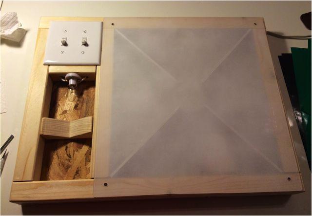 DIY Vinyl Weeding Lightbox ~ Silhouette School