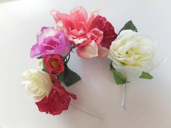 Summer Blossom Flower Crown by LulusAustralia on Etsy, $15.00