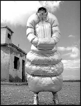 Michiko Koshino - inflatable dresses, 1990......now this is just ridiculous!!  Can't imagine why I haven't seen one of these walking down the street!