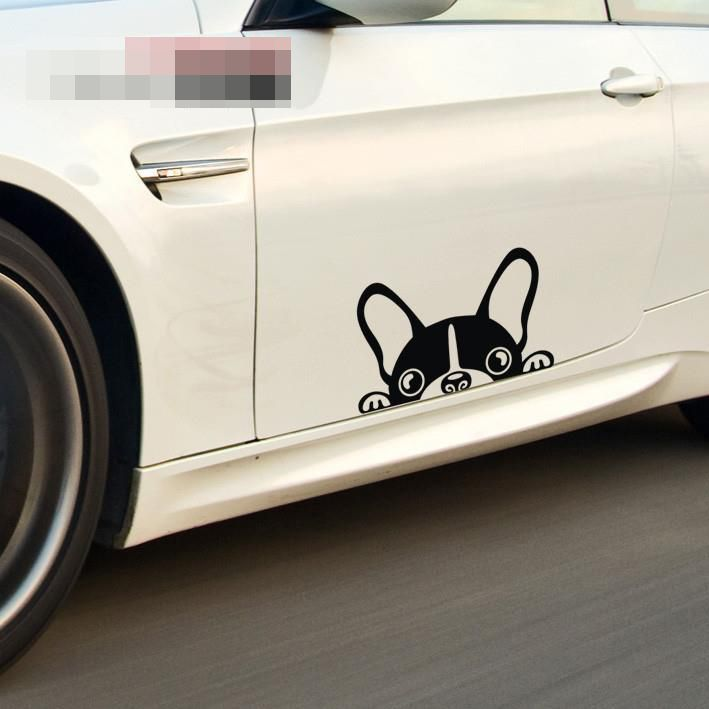 Dog car stickers car sticker door stickers body stickers dog♢ sms f a s h i o n http