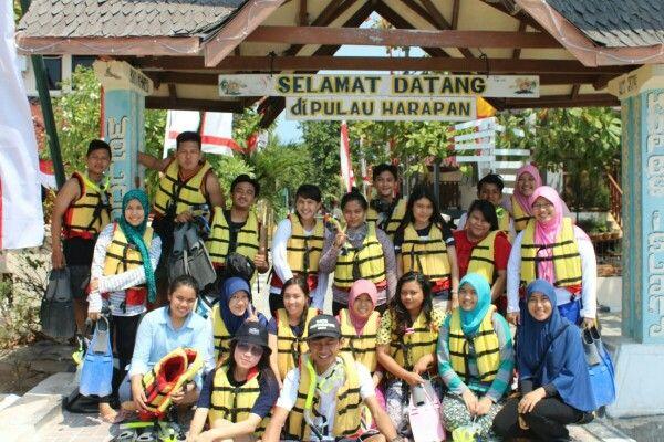 Welcome pulau harapan!!