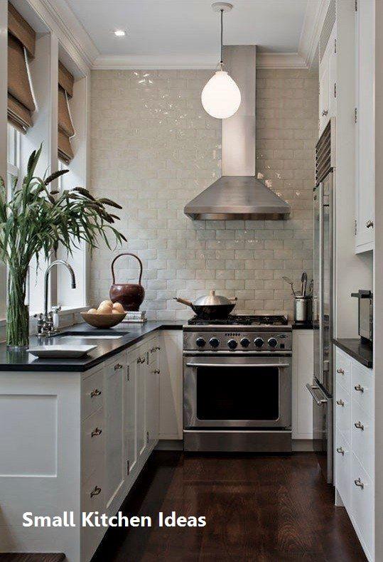 New Small Kitchen Decoration In 2020 Small White Kitchens Kitchen Remodel Small Small Kitchen Decor