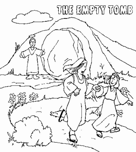 Empty Tomb Coloring Page Luxury Jesus Resurrection Empty Tomb Coloring Page This Coloring Page Will H Jesus Coloring Pages Coloring Pages Easter Coloring Pages