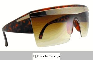 Gaga Shields Sunglasses - 264 Brown Tones