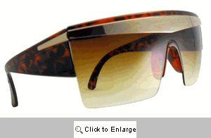 Gaga Shields Sunglasses - 264 Brown Tones