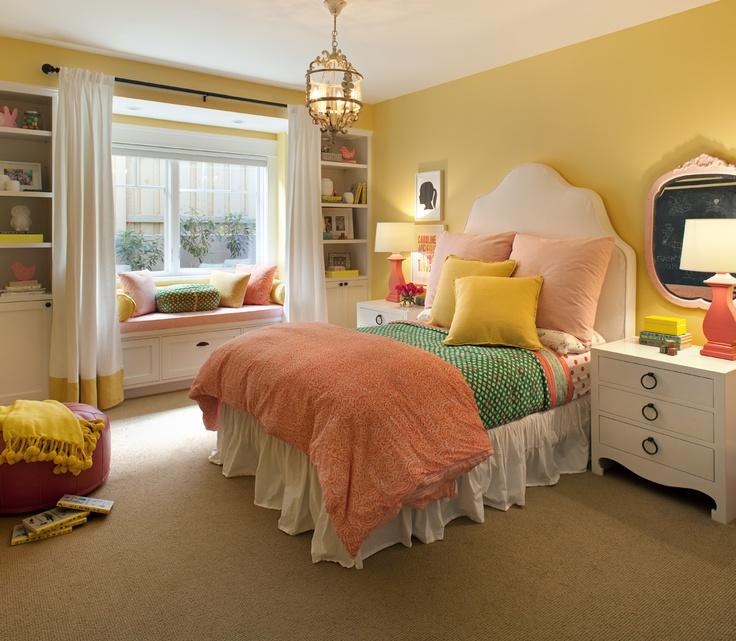 Retro Bedroom Wallpaper Bedroom Ideas Yellow Walls Eclectic Bedroom Decorating Ideas Kids Bedroom Wallpaper Designs: Interior Design By Rustic Rooster Interiors