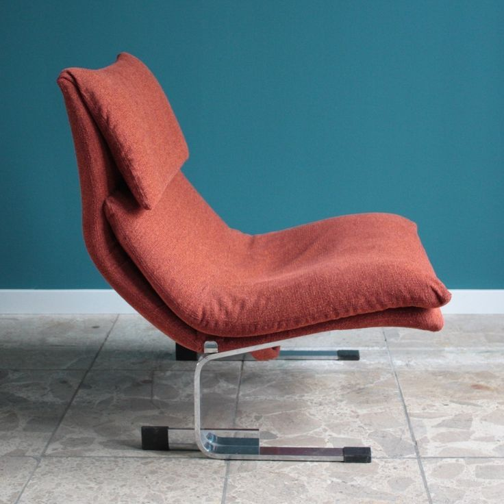 Onda Chair And Ottoman In Missoni Fabric By Giovanni: Located Using Retrostart.com > Onda Lounge Chair By