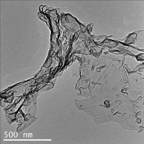 A materials scientist at Michigan Technological University has discovered a chemical reaction that not only eats up the greenhouse gas carbon dioxide, it also creates something useful.