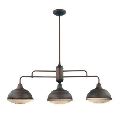 $300 Wayfair (+10%) Millennium Lighting Neo-Industrial 3 Light Kitchen Pendant, great reviews