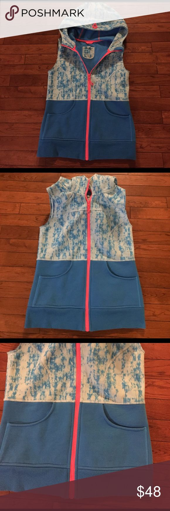 • IVIVVA • lululemon kids brand vest Gently worn Ivivva (lululemon's children's line) vest. Worn once, excellent condition! Size 14. Also fits a woman's XS! Very thick & comfy! Awesome quality! Remember to bundle & save 15%! 💕 lululemon athletica Jackets & Coats Vests