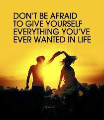 Don't be afraid to go after your dreams, #fitness or otherwise