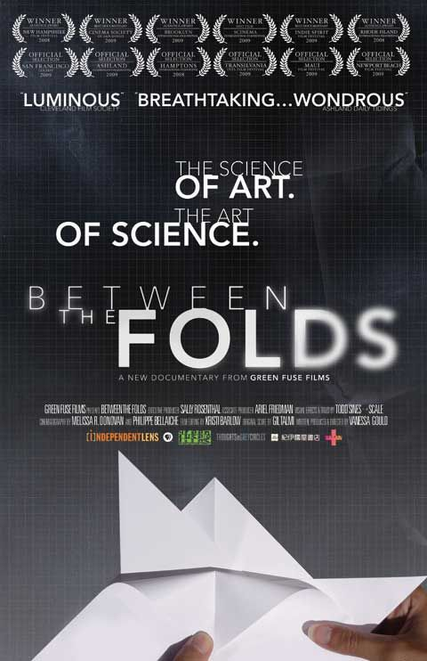 Between the Folds...a stunning documentary on the art and science of Origami. If you like art and documentaries this is a great pick!