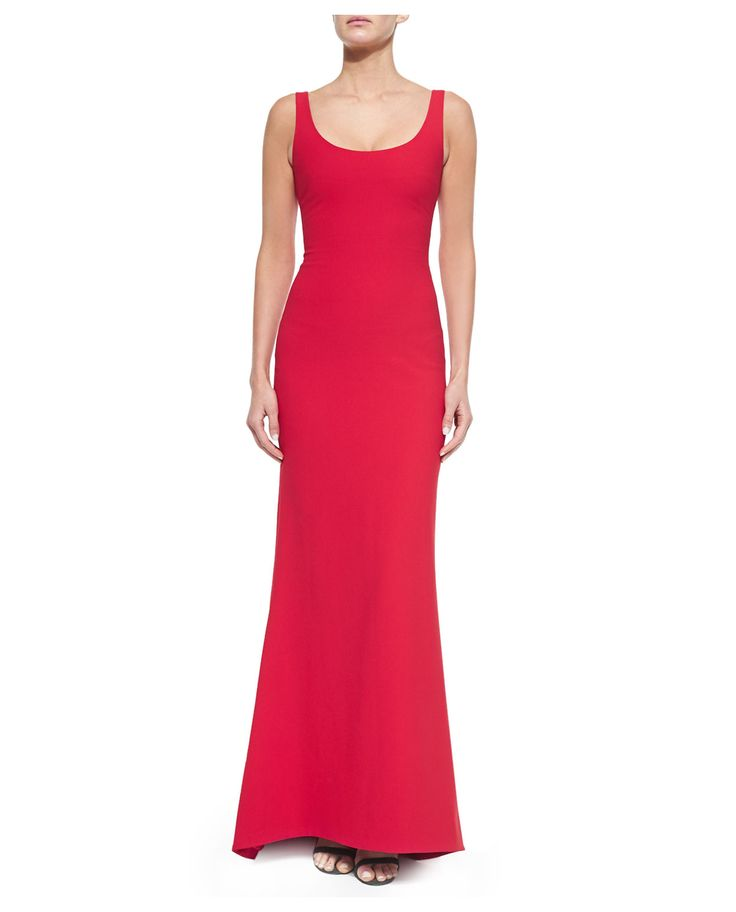 Elizabeth and James Malaya Sleeveless Scoop-Neck Dress, Red - was $645.0, now $451.0 (30% Off). Picked by mickster @ Bergdorf