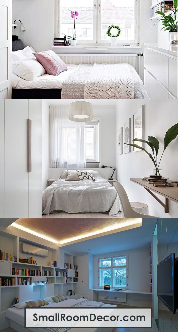 9 Modern Small Bedroom Decorating Ideas Small Bedroom Decor Small Bedroom Small Space Bedroom