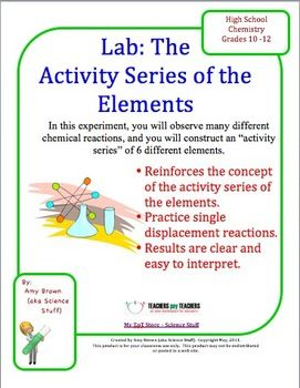 lab 1 reactivity of metals The alkali metals make up group 1 of the  of a piece of laboratory equipment that is found in any chemistry lab,  reactivity of alkali metals- 3.