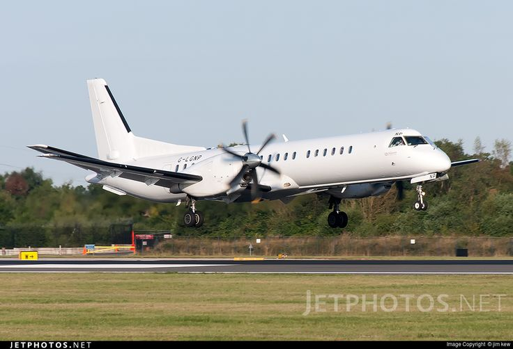 Photo: G-LGNP (CN: 2000-018) Saab 2000 by jim kew Photoid:8409232 - JetPhotos.Net