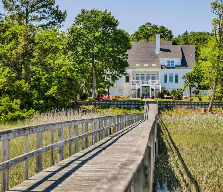 1332 Harbour Watch Ct Calabash, NC is located on the Intracoastal Waterway  with its own personal boat dock. The pier leads to the pool in the backyard!