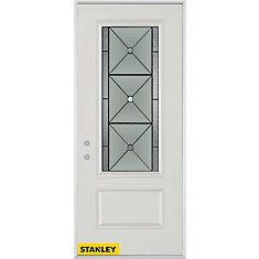 Bellochio Patina Lite White 34 In. Steel Entry Door   Right Inswing