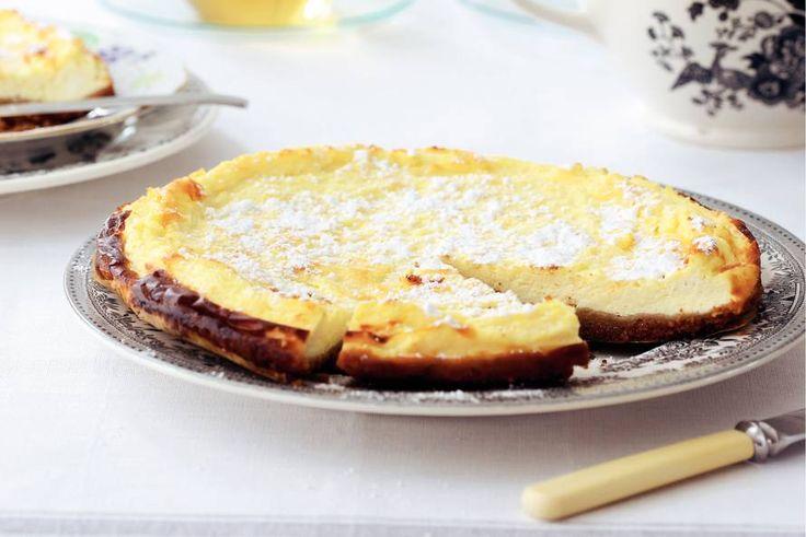 Kijk wat een lekker recept ik heb gevonden op Allerhande! Glutenvrije cheesecake