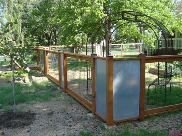 Fence For A Large Lot In Windy Area Ideas For The Home