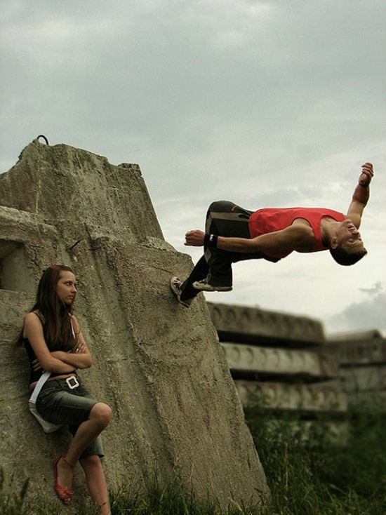 60+ Heart Stopping Elements of Movement: Le Parkour Photography | Design Inspiration. Free Resources & Tutorials