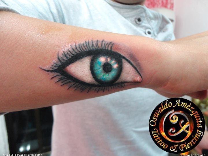 Eye Realistic Tattoo 1 Oswaldo Amezquita - Tattoo Artists.org