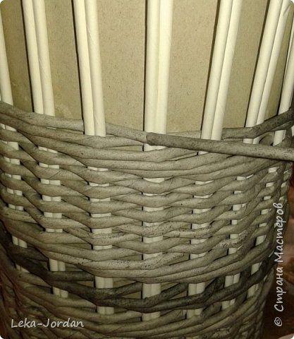 Поделка изделие Плетение Наплелось немного Трубочки бумажные фото 22