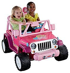Barbie Power Wheels Jeep $199