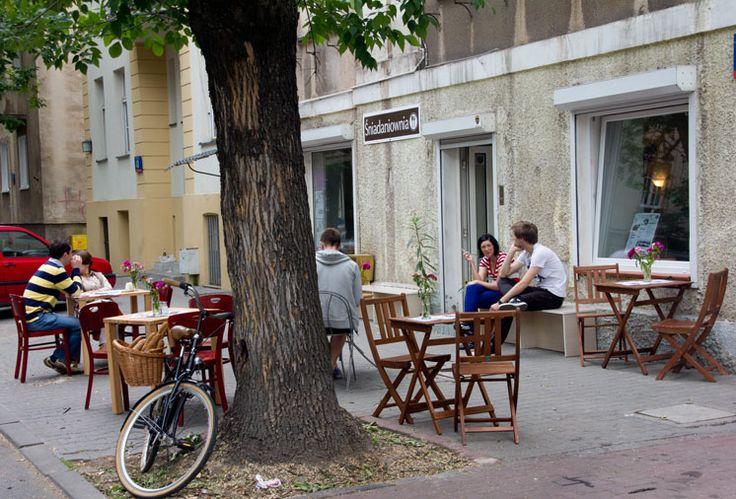 Śniadaniownia ul. Dąbrowskiego 38 #cafe #Warsaw