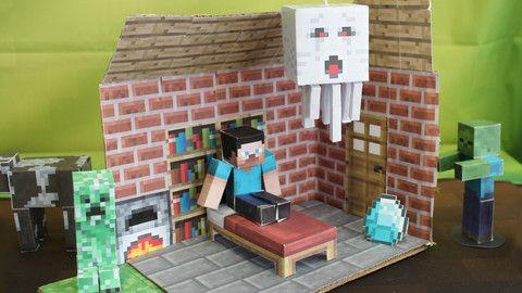 minecraft papercraft studio