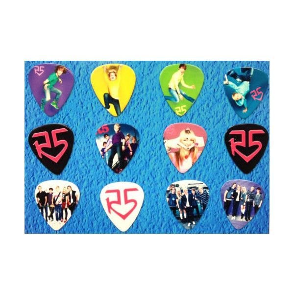 R5 Band Merchandise | R5 Band -Ross Lynch- Guitar Picks - Set of 12 in Entertainment ...