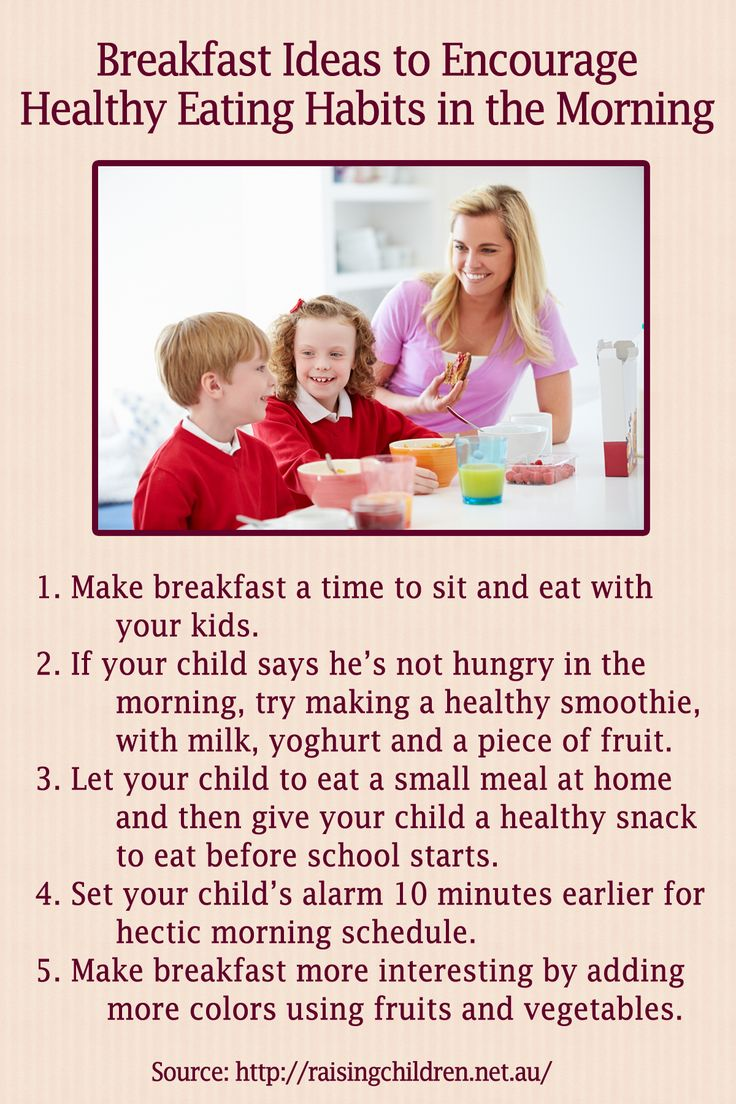 How to encourage your kids to eat breakfast
