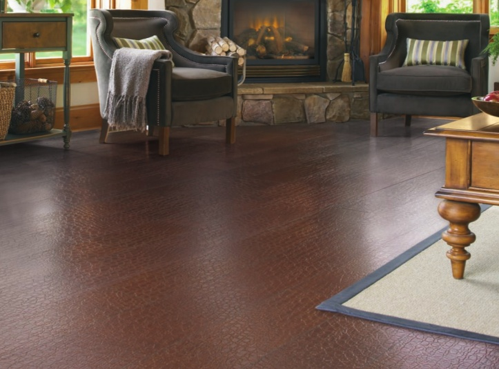 10 best images about leather floor on pinterest for Leather flooring