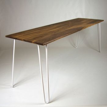 200cm walnut table ral 9003