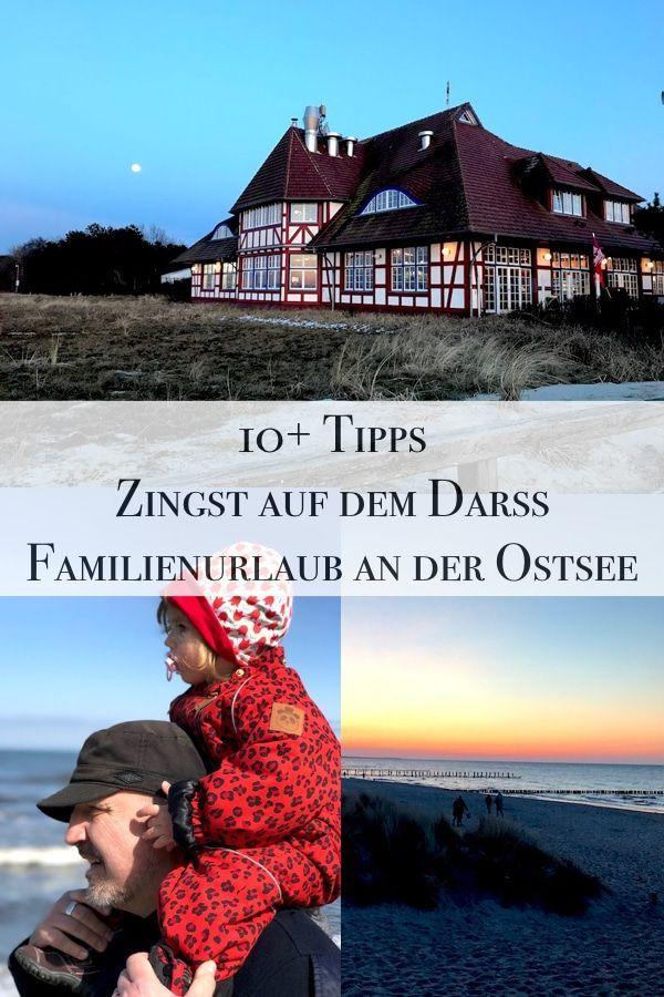 Zingst auf dem Darß bietet ein schönes Ostsee Erlebnis mit Kindern