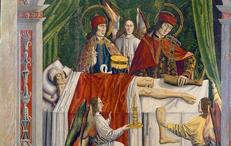 Πνευματικοί Λόγοι: Οι Άγιοι Ανάργυροι έκαναν την πρώτη μεταμόσχευση σ...