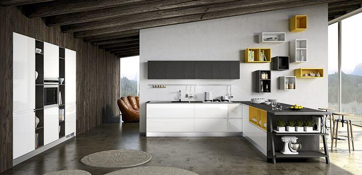 Cucina Moderna Astra Moon: Cucine cremona mantova arredamenti ...