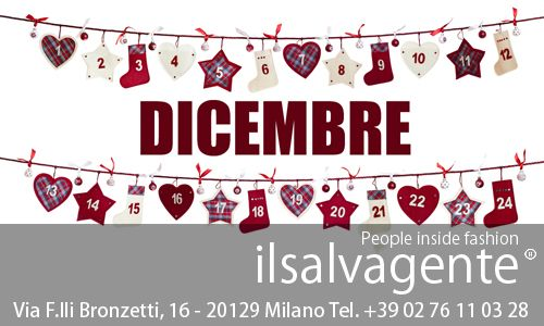 Ecco il nostro calendario delle aperture di dicembre! :D #milano #fashion